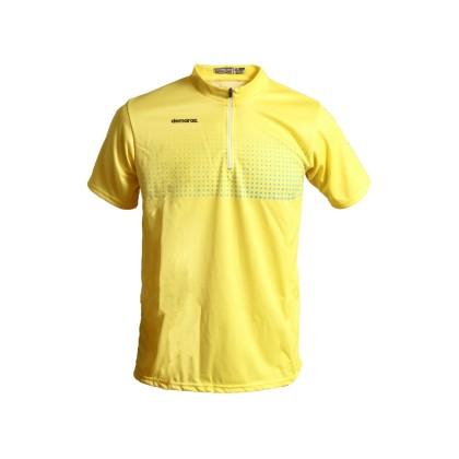 Μπλούζα για τρέξιμο | Demaraz | Κίτρινο fluo με φερμουάρ
