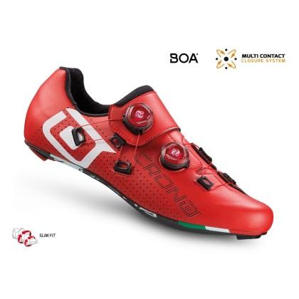 Παπούτσια για ποδηλασία Δρόμου   CR1   CRONO   carbon   κόκκινα