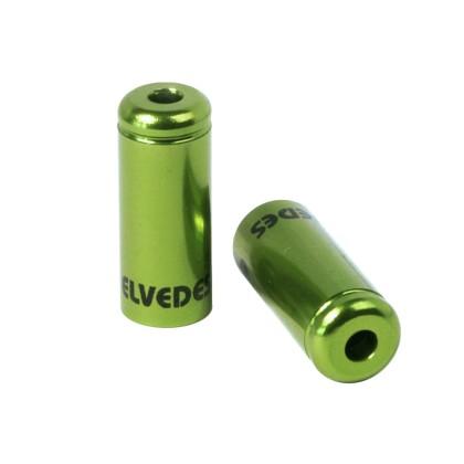 Τελείωμα καλωδίου φρένων   ELVEDES   5 mm   Πράσινο
