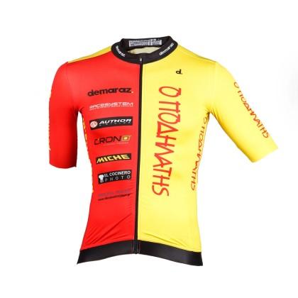 Φανέλα ποδηλασίας   Demaraz   Podilatis PRP   Κόκκινο - κίτρινο