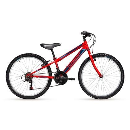 Παιδικό ποδήλατο | CLERMONT | Freeland 2020 | 24 ιντσών | Simplex I Κόκκινο | podlatis.gr