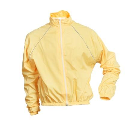 Αδιάβροχο ποδηλασίας κίτρινο Demaraz