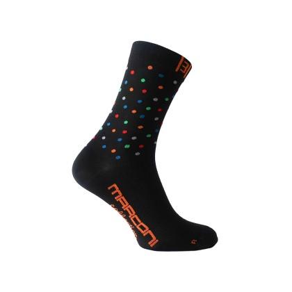 Κάλτσες ποδηλασίας   MARCONI   Black Dots